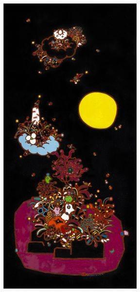 呂英菖-在牡丹的花園裡