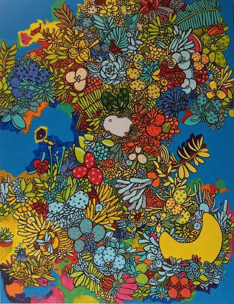呂英菖-盛開的花園Blooming Garden