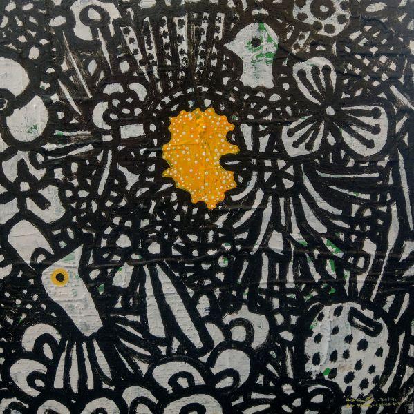 呂英菖-黃色的星空Yellow Starry Sky