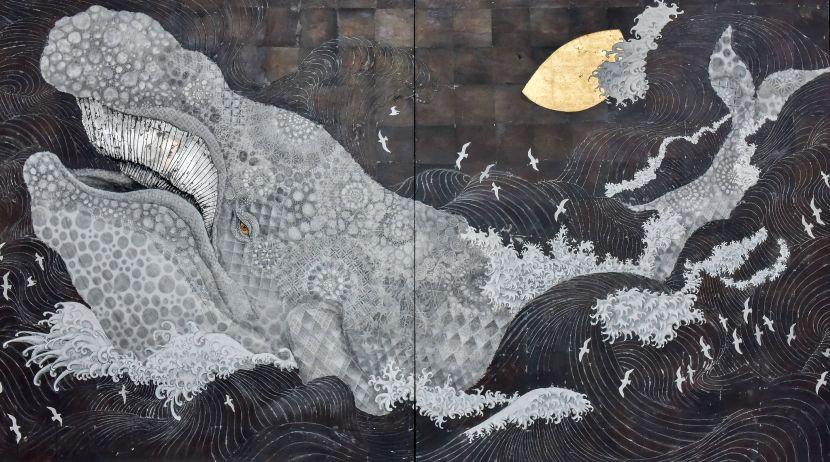 白田誉主也-白鯨圖