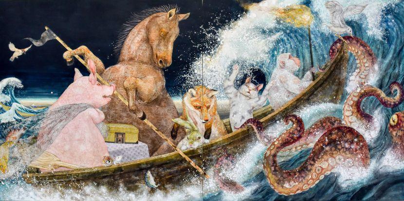 白田誉主也-乘風破浪-遇大章魚篇