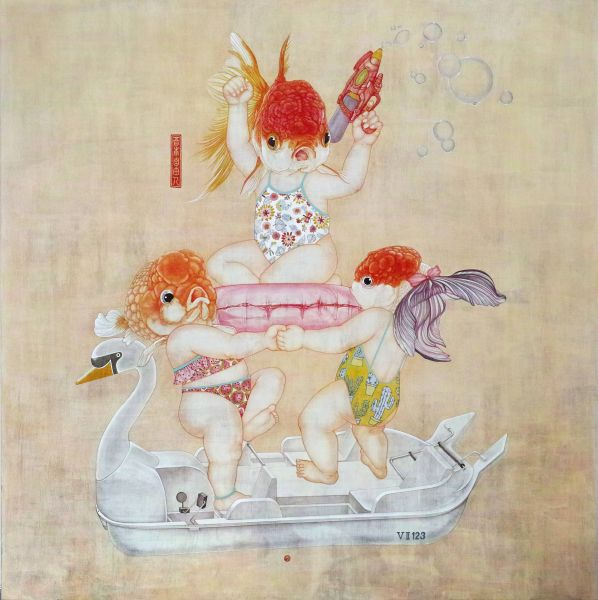 陶羽潔-Have fun on the swan boat