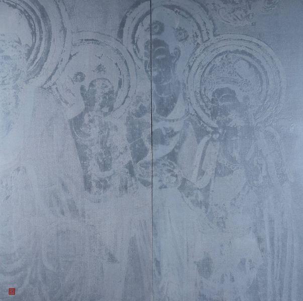 李紹榮-西方三聖 Three Saints