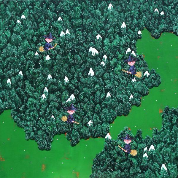 邊世喜-Snowy Forest