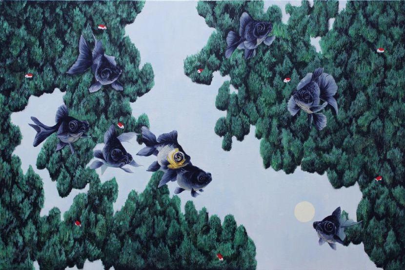 邊世喜-Floating Forest
