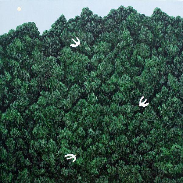 邊世喜-Forest at Dawn