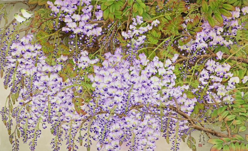 陳士侯- 紫藤