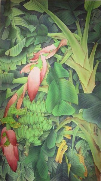陳士侯-蕉花