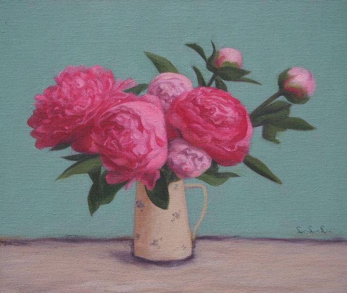 林麗玲-紅牡丹