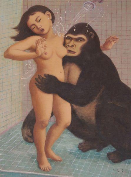林麗玲-浴室