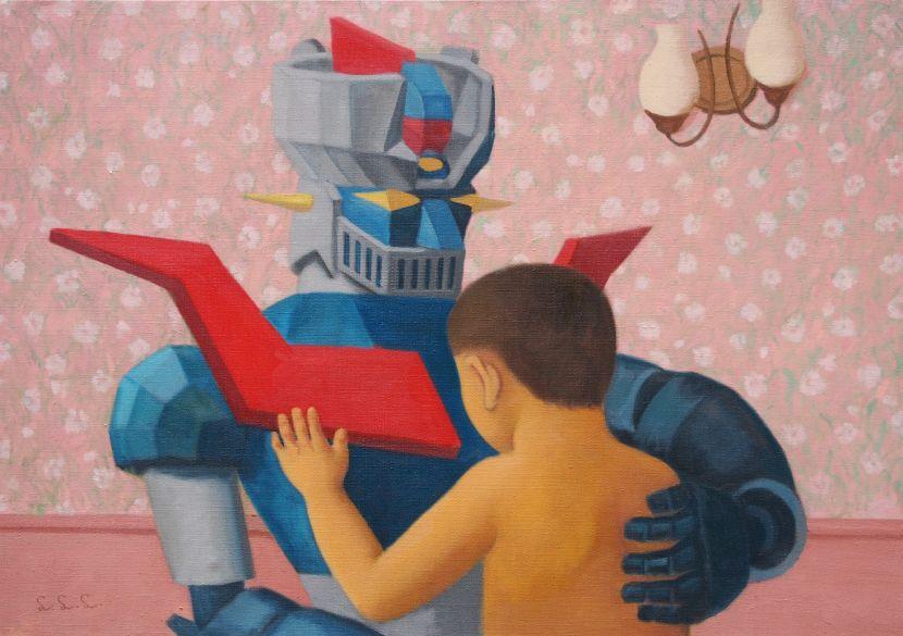 林麗玲-小男孩與機器人