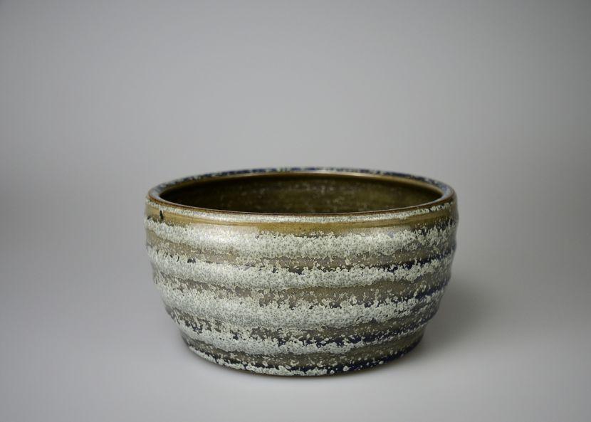 孫福昇-弦紋水仙盆