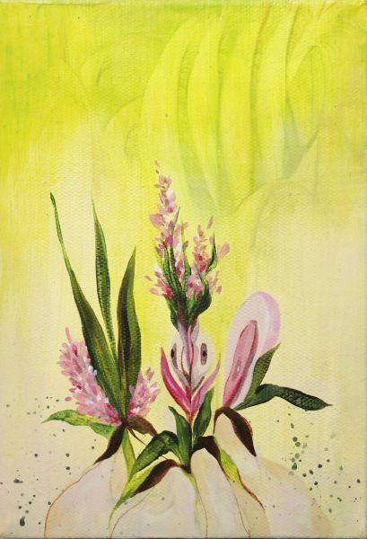 劉昕宜-花叢Flower bush