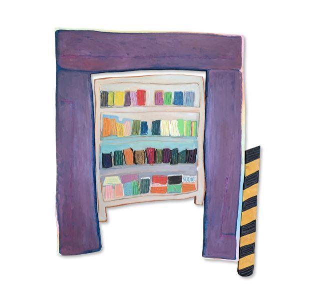 傅詩霖 -當書櫃變成口罩櫃 When bookshelves became mask shelves