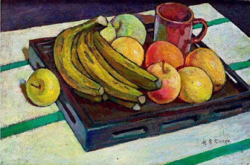 閔希文-香蕉蘋果盛滿盤