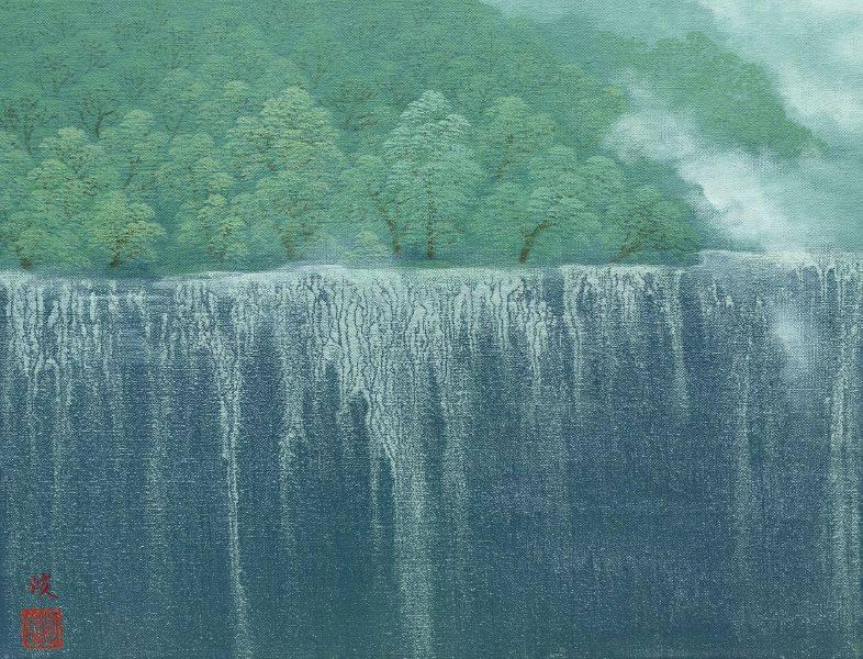 洪江波-瀑布
