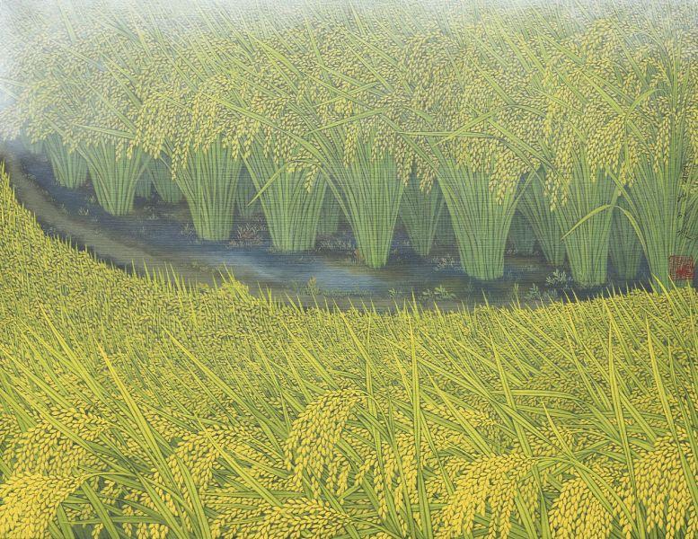 洪江波-金穗 Field in Gold
