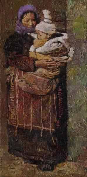 陳鏗-母與子