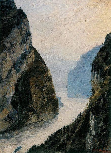 馮中衡-西陵峽勝景