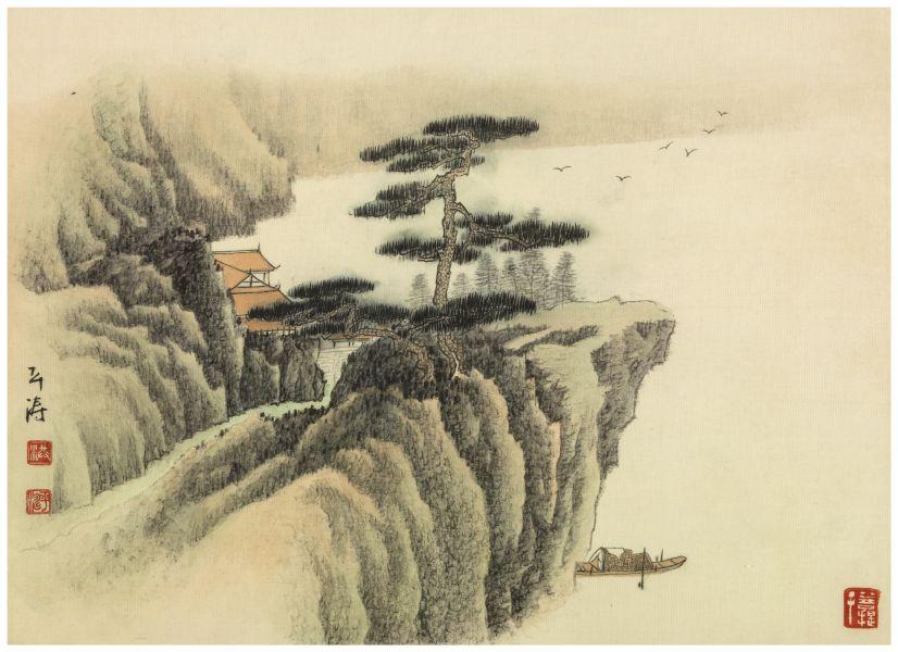 洪平濤-山水6