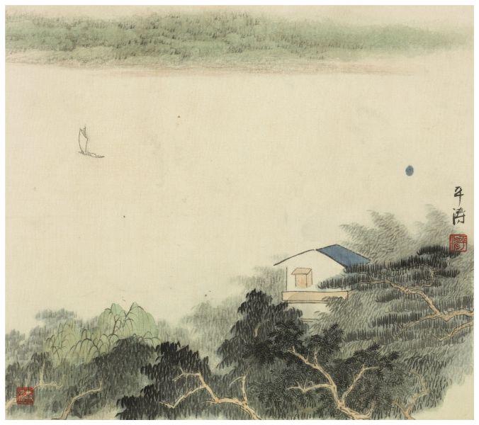 洪平濤-山水8