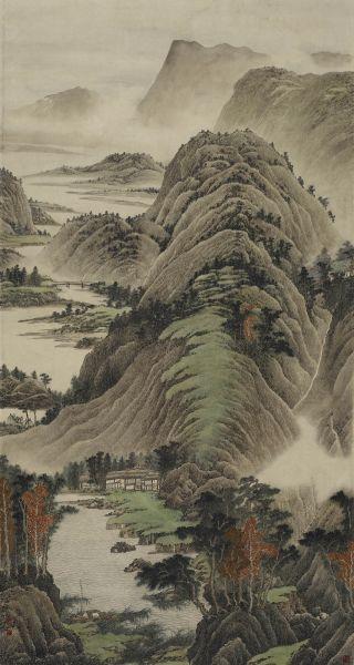 洪平濤-靜幽山河