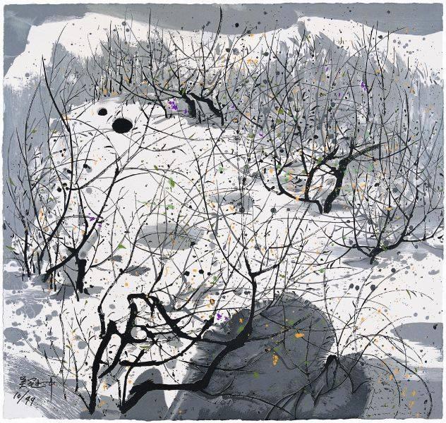 吳冠中-遺忘的雪