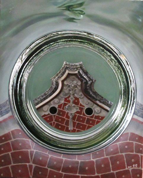 陳秀雯-瓶景系列-新埔劉氏雙堂屋