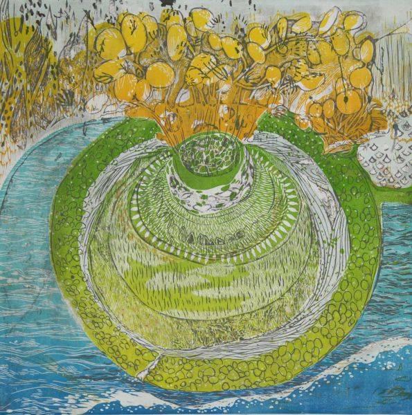 蔡玉觀-春季-雨之島