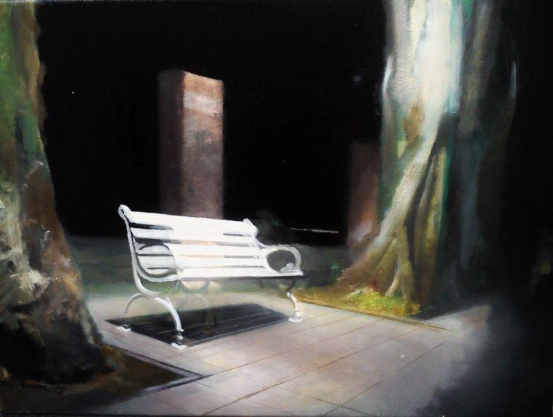 劉安廸-人行道長椅