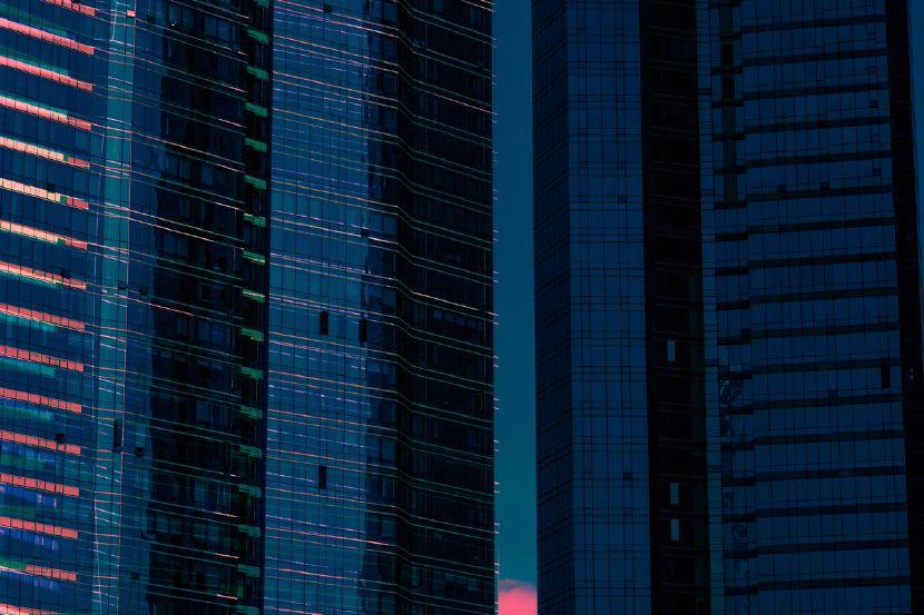 王品堯-藍色夕陽