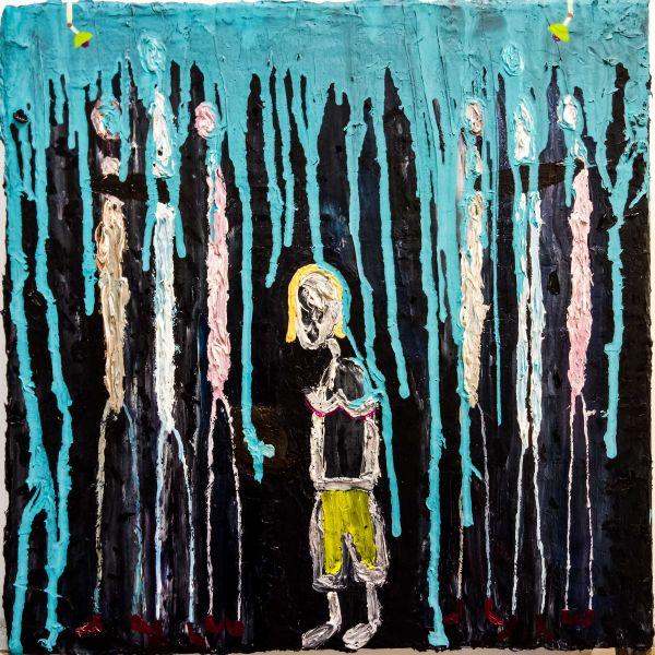 張博洋-受邀參加人生第一場尾牙現場觀察的繪畫報告A