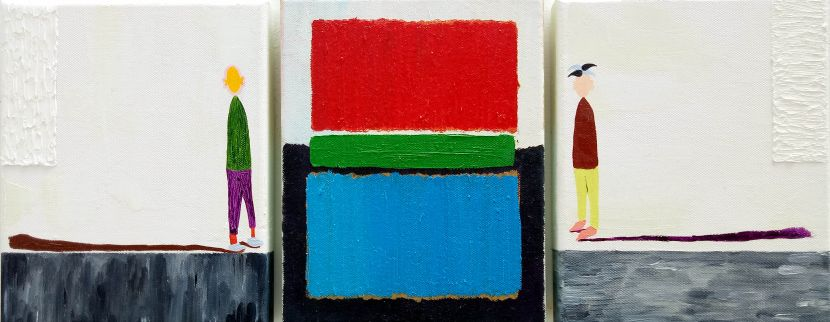 張博洋-在美術館看著馬克·羅斯科的作品