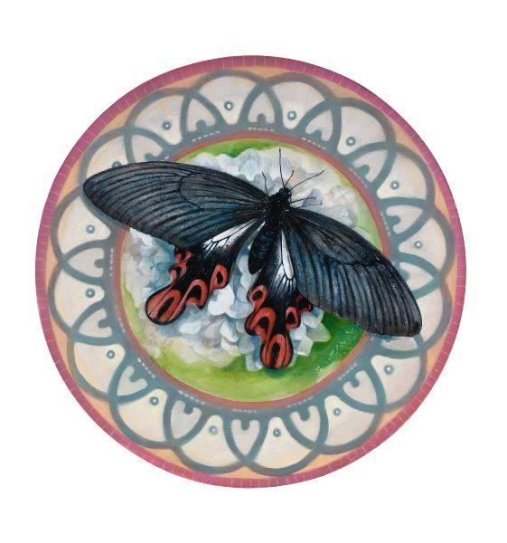 吳嘉綺-黑珍珠寬尾鳳蝶