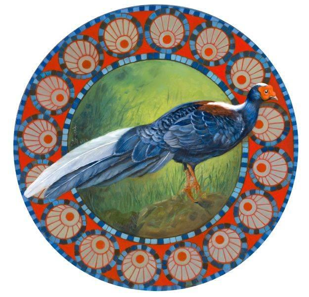 吳嘉綺-藍寶石- 藍腹鷳