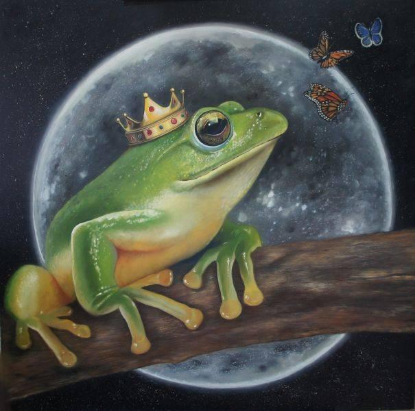 吳嘉綺-華麗帽子 系列- 青蛙王子‧台北樹蛙