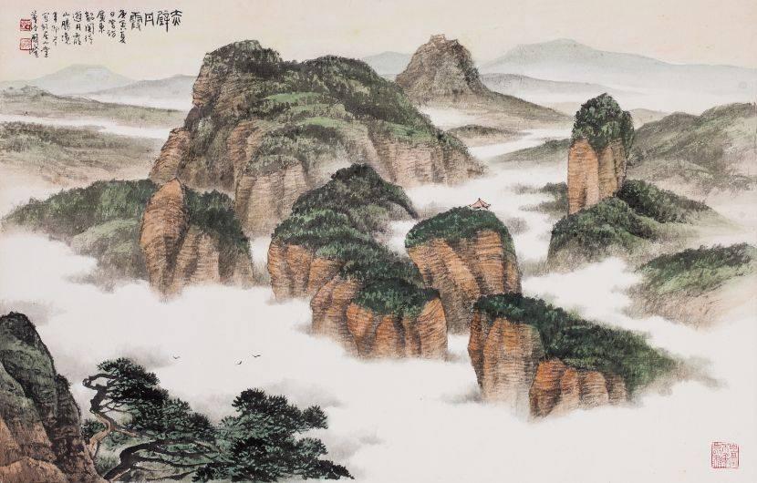 周澄-丹霞赤壁