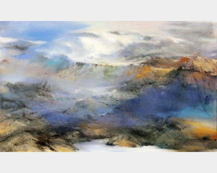 沈東榮-雲散見仙境