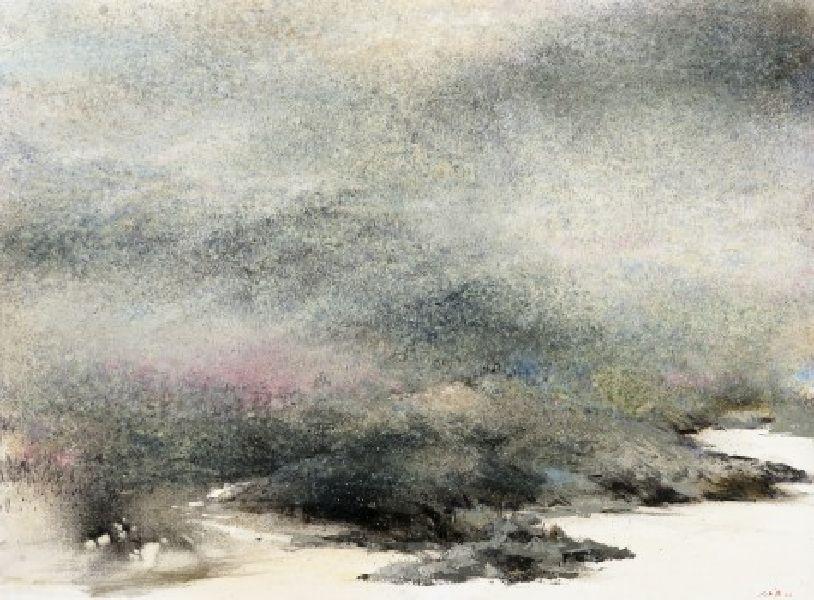 沈東榮-189.迷濛山水憶故人