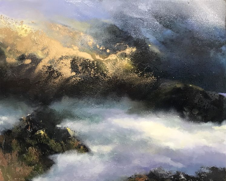 沈東榮-312.流金歲月系列 —金色晨光