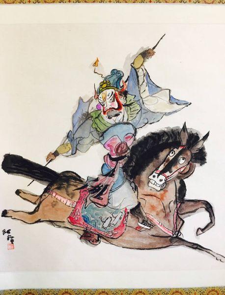 陳朝寶-單騎