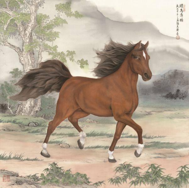 張克齊-躍馬奔騰