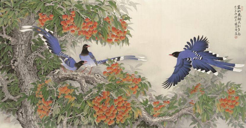 張克齊-藍羽展翅 大利多多