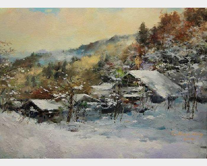 蘇瑞明-加拿大晨雪
