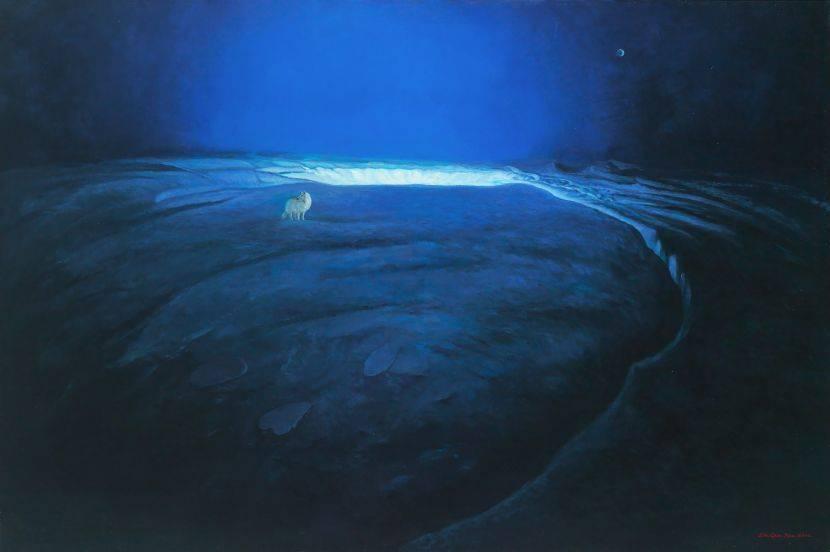 林金標-幽藍心境