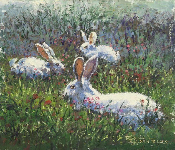 楊年發-福兔迎春