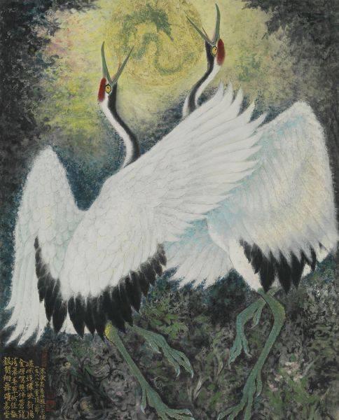 陳永森-銀鶴翔舞