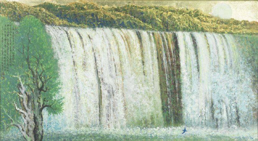 陳永森-橫崖瀑布