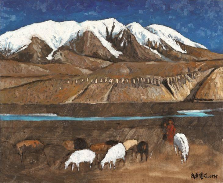 顧重光-塔什庫爾干雪山牧羊