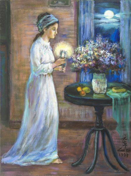 李元亨-少女的祈禱